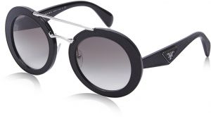 22c2945bef Prada Round Women s Sunglasses - 14SS 1AB 0A7 -53 -25 -140 mm