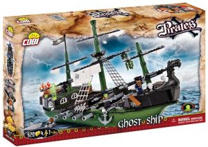 5662d3aaf2d57 Cobi 6017 Pirates Ghost Ship Model Building Block Toy - 4 Years   Above