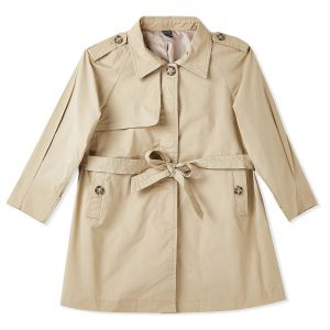 cc3617702bb3 Iconic Trench Coat for Girls - Khaki