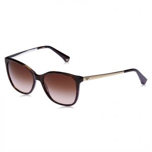 88d5d1c4dae Emporio Armani Erika Sunglasses for Women - Brown Lens