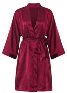 IngerT Silk Like Slip Nightwear Sleepwear Lingerie Short Robe Dress for  Women 5c984cc3d
