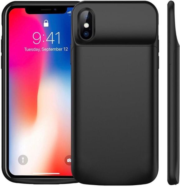 the best attitude c01e8 201d5 iPhone X smart battery Case 6000mAh