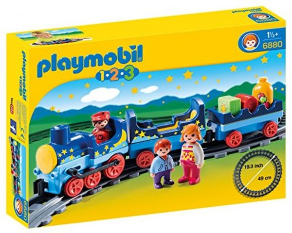 Playmobil 1 2 3 Night Train With Track Souq Uae