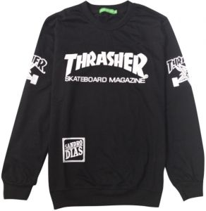 Thrasher hip hop warm long-sleeved round neck pullover tide sweatershirt  for Men 27e18851ec