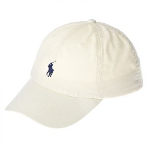 Polo Ralph Lauren Classic Sports Cap For Men - Cream affe3e1dece7