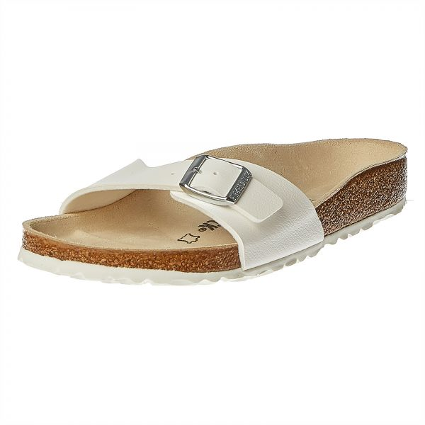 e8012bc26a0 Birkenstock Madrid White BF Sandal For Women