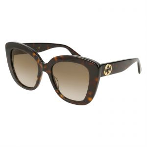 08b362ba366 Gucci Cat Eye Sunglasses for Women - Brown Lens