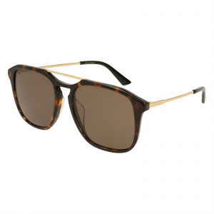 31e9bf7838e Gucci Oversized Sunglasses for Women - Brown Lens