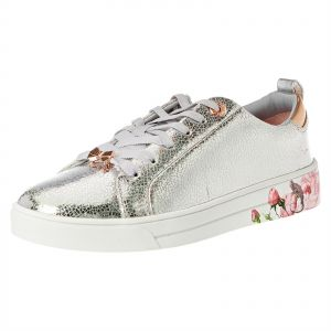 sports shoes bf8a3 a8c7b Ted Baker Luoci Fashion Sneakers For Women - Silver
