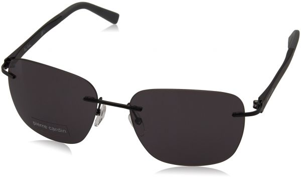 49d4d4e3cb8 Pierre Cardin Aviator Sunglasses for Men - Black Lens