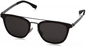 abf9b7a0d5d Hugo Boss Wayfarer Sunglasses for Women - Black Lens
