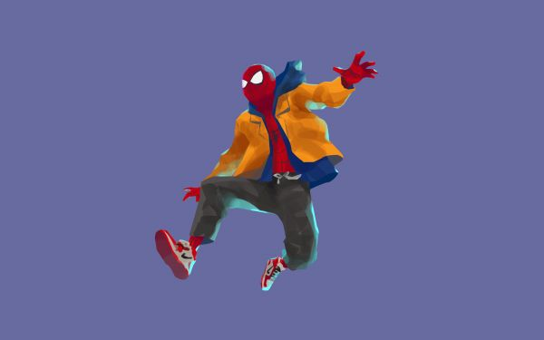 Canvasby Spiderman Into The Spider Verse Movie Artwork Wall Art