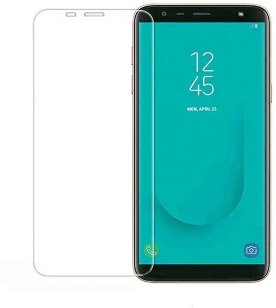 Samsung Galaxy J4 plus (6 0) Clear Tempered Glass Screen Protector 2 5D For  Galaxy J4 Plus Mobile