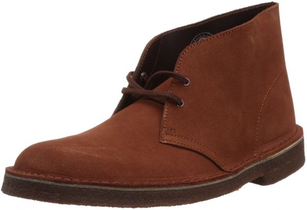 2a8644acb32 CLARKS Men's Desert Boot Boot, Mahogany Suede, 11.5 Medium US