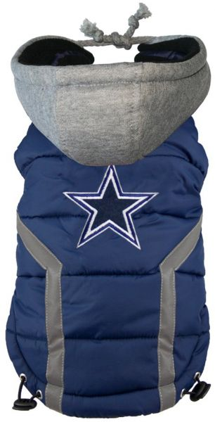 a393ed4c8 NFL Dallas Cowboys Dog Puffer Vest