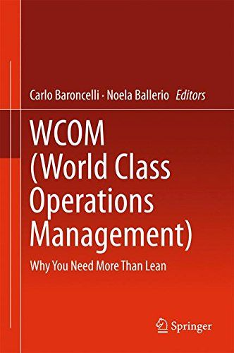 WCOM (World Class Operations Management): Why You Need More
