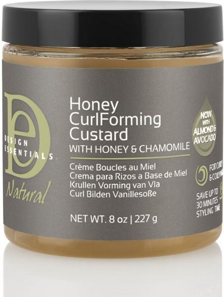Design Essentials Natural Honey Curl Forming Custard Infused With