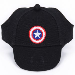 cf41c1405c11b Summer Pet Dog Hat Cute AC cessories For Small Dogs Print Baseball Dog Cap  Outdoor Captain America
