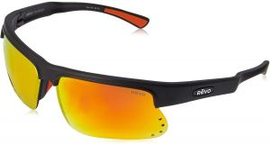 8dc669dc14 Revo Unisex RE 1025 Cusp S Rectangular Polarized UV Protection Sunglasses  Wrap