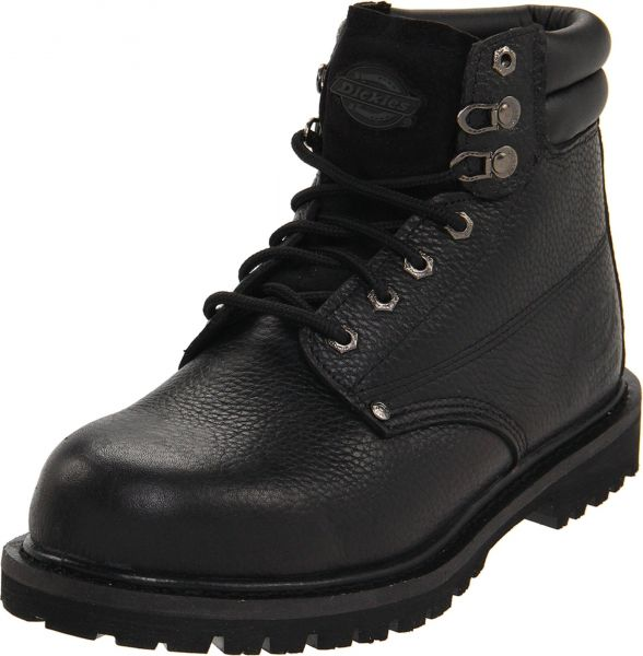 904689108e0 Dickies Men's Raider 6 Inch Steel-Toe Work Boot,Black,8.5 M US