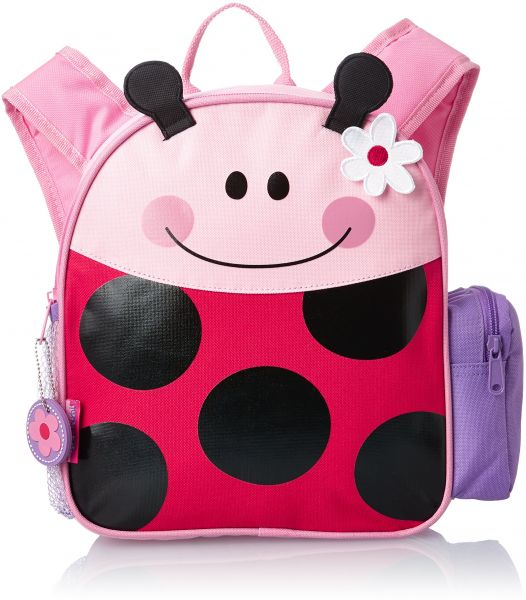 Stephen Joseph Mini Sidekick Backpack, Ladybug