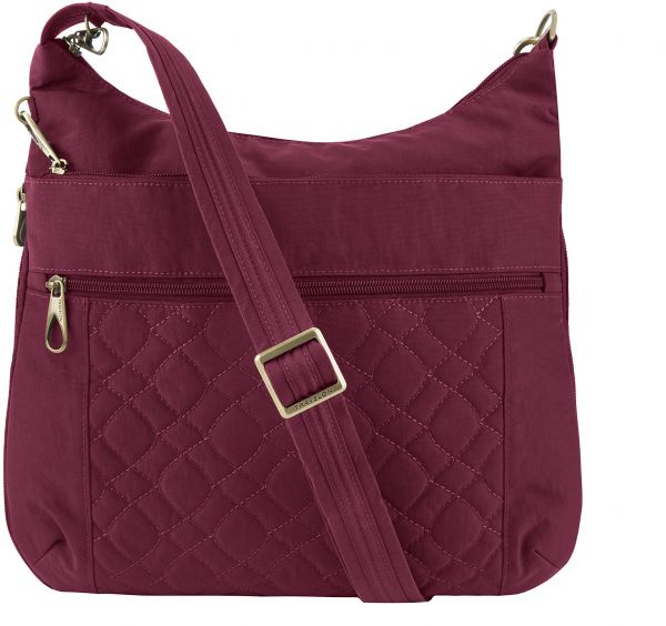 fbe7e8682e9d Travelon Women s Anti-Theft Signature Quilted Expansion Crossbody Cross  Body Bag