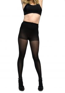 b4414ca61 Curvation Women s Plus Size Lightweight Control Top Microfiber Tights