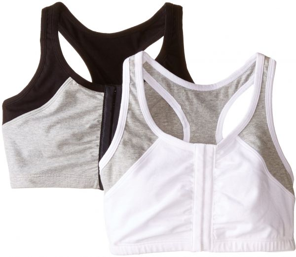 Fruit of the Loom Women s Front Close Racerback (Pack of 2) f829a0bfe