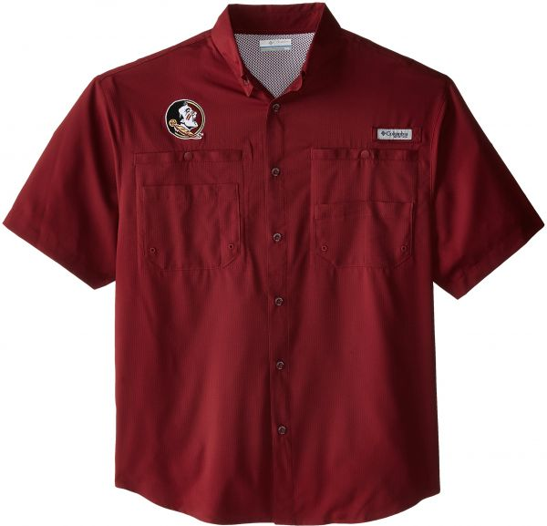 fdd84503707 NCAA Florida State Seminoles Men s Collegiate Tamiami Short Sleeve Shirt