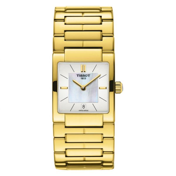 13af15ce731 tissot Women s Mother of pearl Dial Stainless Steel Band Watch -  T090.310.33.111.00
