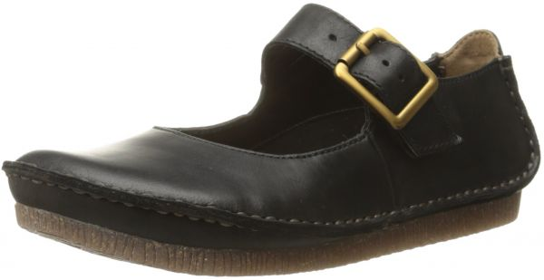 aa3a02deed94 CLARKS Women s Janey June Mary Jane Flat