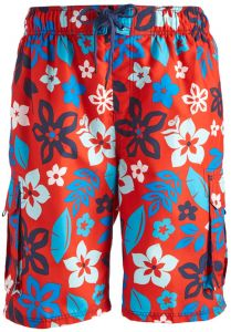 3ab807ad54 Kanu Surf Men's Revival Floral Quick Dry Beach Board Shorts Swim Trunk,  Red, XX-Large