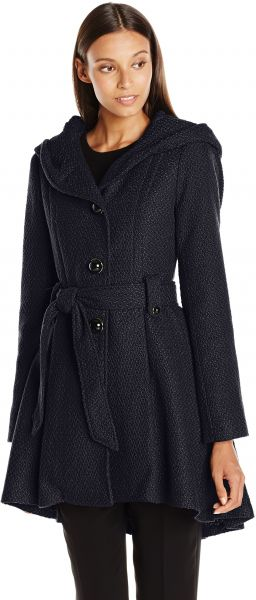 9aef7ca1337 Steve Madden Women s Single Breasted Wool Coat