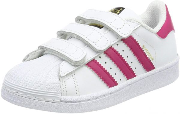 timeless design 8730c 82c1a adidas Superstar Shoes for Girls, White - B23665   Souq - UAE