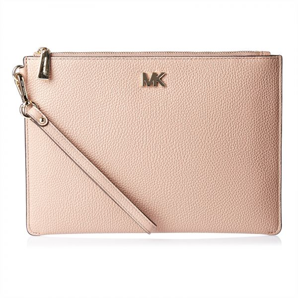 d2b316f50371 Michael Kors Clutch for Women - Light Pink