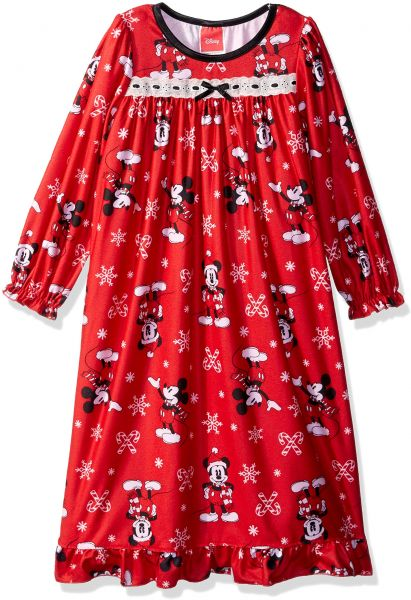 Disney Girls  Toddler Mickey Mouse Holiday Family Sleepwear Collection 5e5321457