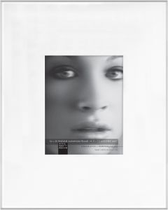 8cc7f05c07c0 Framatic Fineline 16x20 Inch Aluminum Frame Matted to 8x10 Inch Photo