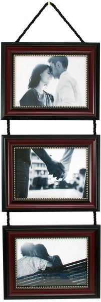 Kiera Grace Horizontal Lucy Collage Picture Frames On Hanging Ribbon