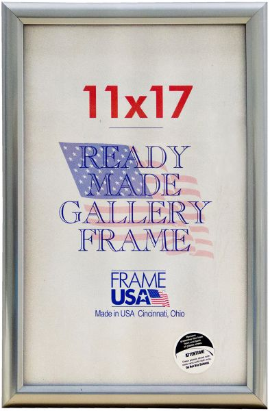 Deluxe Poster Frame Frames 11 X 17 Silver Souq Uae