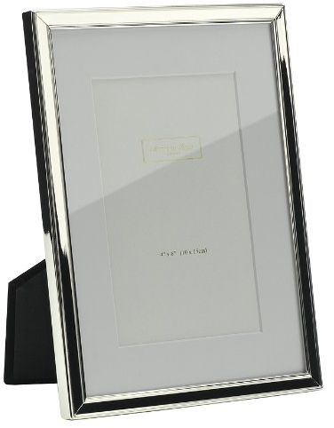 Addison Ross Photo Frame 6x8 Silver Plate Mounted 6 X 8 Inches