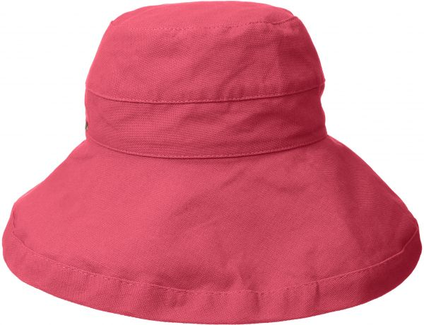 fae6e050 Scala Women's Cotton Hat with Inner Drawstring and Upf 50+ Rating,Coral  Rose,One Size | KSA | Souq
