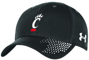 the best attitude 58768 484a9 Under Armour NCAA Cincinnati Bearcats Adult NCAA Renegade Adjustable Cap, One  Size, Black