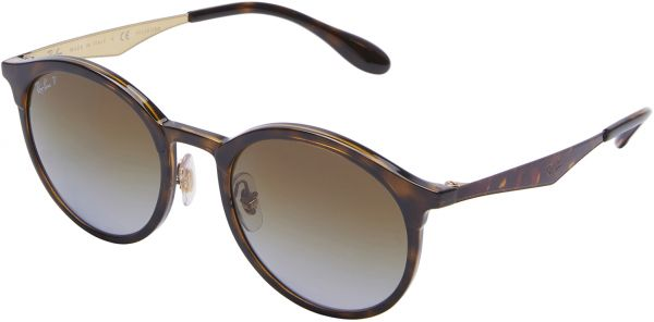 ece8211d360 Ray-Ban Emma Round Tortoise Sunglasses - RB4277 710 T5 51-21-145mm ...