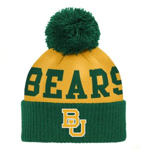 timeless design b191e 46f94 NCAA Baylor Bears Infant Jacquard Cuffed Pom Hat, Infant One Size, Dark  Green