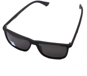 8cb0ba983d Men s Classic Square Sunglasses with Case Box Black