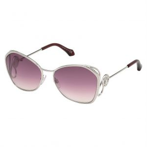 da81dd69889 Roberto Cavalli Square Sunglasses for Women - Purple Lens