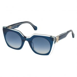 26ab4b1c3f5 Roberto Cavalli Wayfarer Sunglasses for Women - Blue Lens