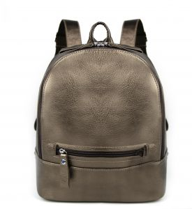 Women Backpack PU Leather Simple Design Casual Fashion Daypack School  Backpack for Girls Gold 7d263bcf98