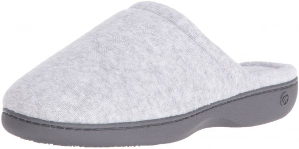 f66229f4cceb ISOTONER Women s Terry Slip On Clog Slipper with Memory Foam for Indoor  Outdoor Comfort