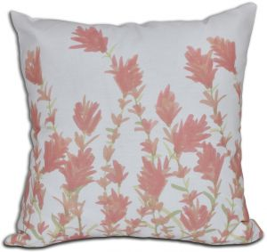 E by design O5PGN430WH1YE3-18 Printed Outdoor Pillow